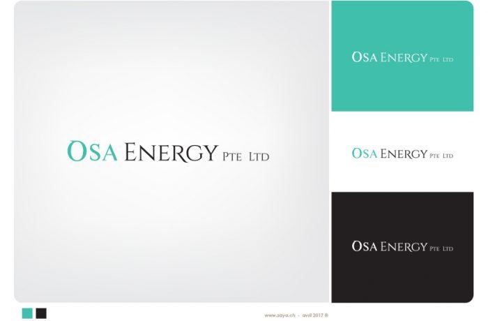 """logo """"osa energy"""""""